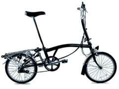 Picture 1: The brompton foldig bike