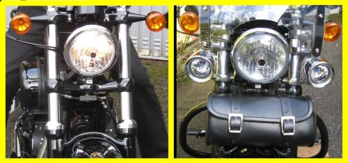 Picture 3: Harley, comparison of the front view