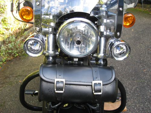 Picture 4: Harley Davidson, front view