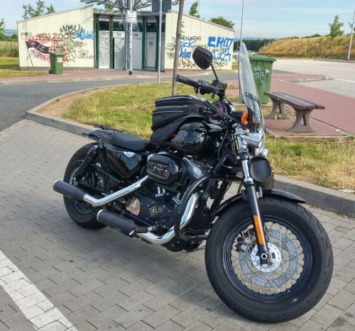 Bild 11: Die Harley 48 forty eight customized