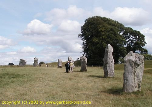 Picture 4: Stone Circle of Avebury