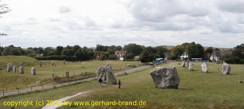 Picture 5: Stone Circle of Avebury