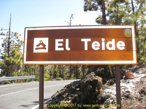 Picture 1: El Teide (Information sign)