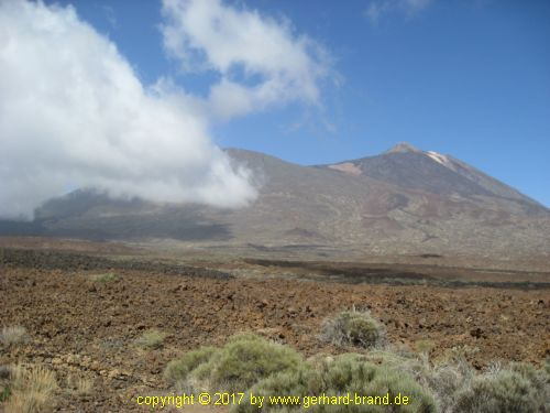 Picture 4: El Teide (above the clouds)