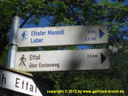 Picture 21: Ettaler Manndl, signs