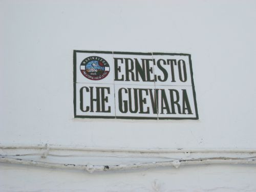 Picture 3: Street sign Calle Ernesto Che Quevara in Marinaleda