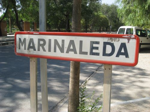 Picture 1: Marinaleda, the entrance to the village