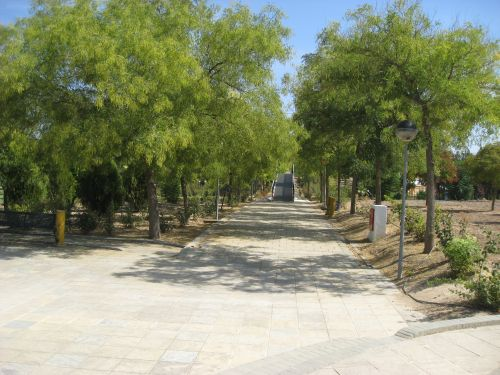 Picture 2: Te park of Marinaleda