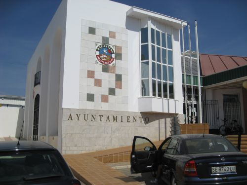 Picture 7: The townhall of Marinaleda