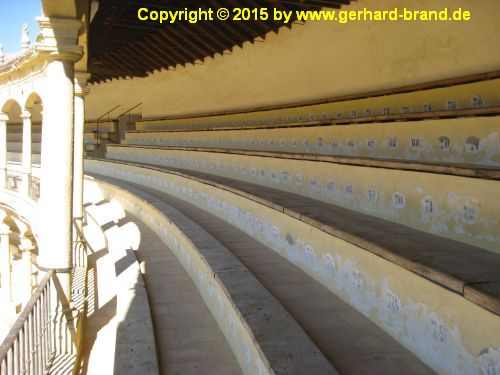 Picture 8: Bullfighting arena of Ronda / the tier