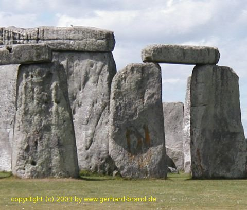 Picture 4: Graffiti on the stones of Stonehenge
